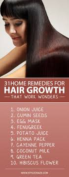 powerful home remes for hair growth