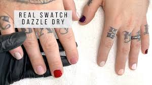 dazzle dry polishes on real nails