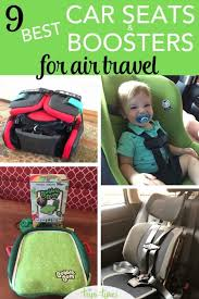 car seats and boosters for air travel