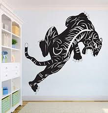 Amazon Com Bestickershop Pantera Beautiful Wall Decal African Wild Lion Pride Animals Home Interior Design Art Office Murals Home Decoration 1929re Home Kitchen