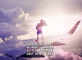 strong motivational quote about fake people surreal
