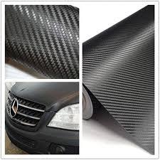 30x127cm 3d Carbon Fiber Vinyl Wrap Roll Film Sticker Car Decal Decor Nicerin Best Goods Free Shipping