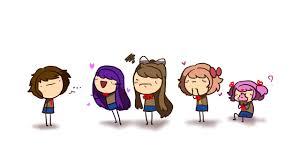 HE'S MINE (doki doki family friendly literature club) //animation ...