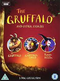 Amazon Com The Gruffalo And Other Stories The Gruffalo The Gruffalo S Child Room On The Broom Dvd Simon Pegg Movies Tv