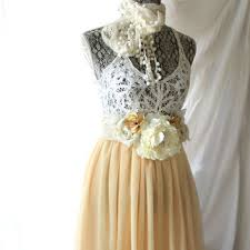 lace dress romantic country chic from