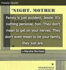 family is just accident jessie it s nothing personal hon they don