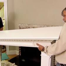 how to upgrade a mantel hearth and