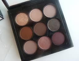 mac eye shadow x 9 burgundy times nine