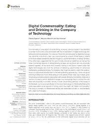 pdf digital mensality eating and