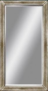 leaner antique frame floor mirror