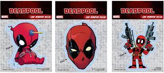 Deadpool Window Decals Deadpool Bugle