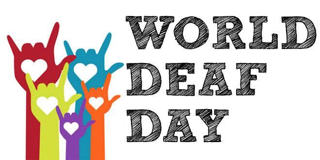 Image result for world deaf september last sunday