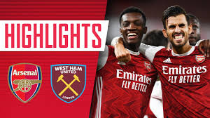 HIGHLIGHTS | Arsenal vs West Ham (2-1) | Lacazette, Antonio, Nketiah -  YouTube