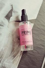 prime makeup primer and setting spray