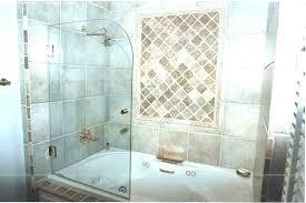 bathtub shower doors glass shower door