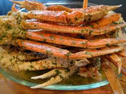 Butter & Garlic Crab Legs ...