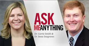 Ask Me Anything Series: Dr. Carrie Smith & Dr. Beau Seagraves - UGA Alumni  Association