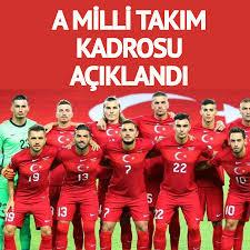 Sözcü Gazetesi - A Milli Takım kadrosu açıklandı...