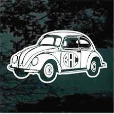 Volkswagen Bus Monogram Decals Car Window Stickers Decal Junky