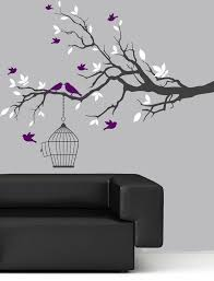 Branch Wall Decal Tree Vinyl Wall Decal Branch Wall Decal Birds Decals Branches Decals Childrens Wall Decals Sticker Wall Art Bird Wall Art
