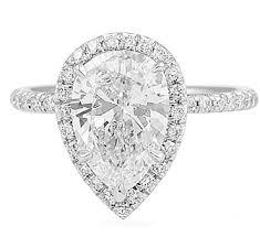 pear shape diamonds for enement