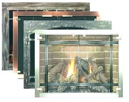 how to paint fireplace doors