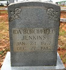 Ida Burchfield Jenkins (1867-1942) - Find A Grave Memorial