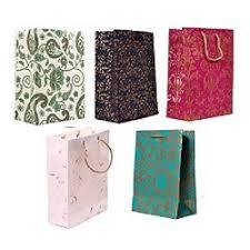 printed paper gift bags capacity 1 2