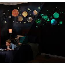 Glow In The Dark Solar System Wall Decals Jack And Jill Boutique
