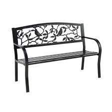 metal outdoor garden bench 8mb120
