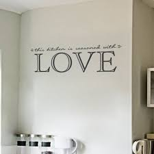 Wallums Wall Decor This Kitchen Is Seasoned With Love Quote Wall Decal Wayfair