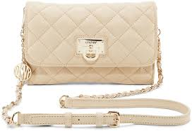 quilted leather small flap cross