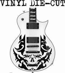 Skull Skin Decal Sticker For Electric Guitar For Les P Models Hmcustom Online Shop