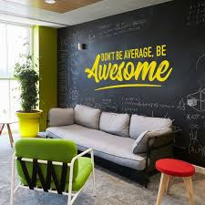 Be Awesome Wall Decal Office Wall Art Office Decor Office Etsy