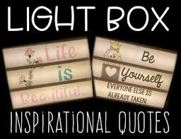 light box slide inserts inspirational quotes a growing bundle