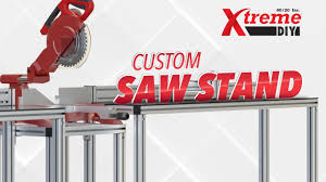 80 20 Inc Xtreme Diy Saw Stand Youtube