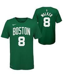 Nike Big Boys Kemba Walker Boston Celtics Icon Name And Number T Shirt Reviews Sports Fan Shop By Lids Men Macy S