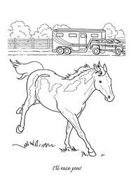 Paint Horse Kleurplaten Paard Tekeningen Paarden