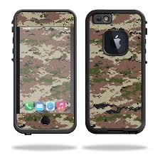 Mightyskins Protective Vinyl Skin Decal For Lifeproof Iphone 6 6s Case Fre Case Wrap Cover Sticker Skins Urban Camo Walmart Com