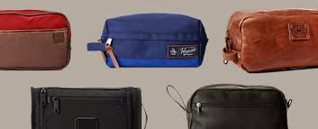 toiletry bags for men manly dopp kits
