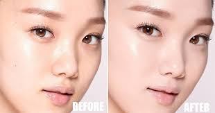 korean makeup blurring technique