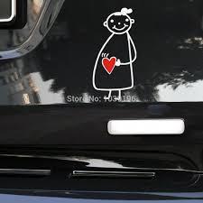 Newest Design Funny Car Sticker Pregnant Girl Mama In Car Decal For Toyota Chevrolet Volkswagen Tesla Honda Hyundai Kia Lada Mama In Car Car Stickerfunny Car Stickers Aliexpress