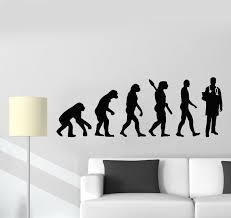 Vinyl Wall Decal Evolution Doctor Art Biology Science Medicine Health Wallstickers4you