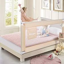 70 Inches Bed Rail For Toddlers Fold Down Safety Baby Bed Guard Swing Down Bedrail For Convertible Crib Kids Twin Double Full Size Queen King Mattress Beige Upgraded 1 Pack Amazon Ca