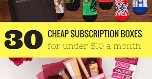 30 subscription bo for 10 or less