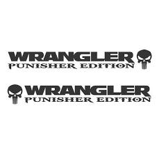 Jeep Wrangler Rubicon Punisher Tj Lj Jk Jku Vinyl Hood Decals Stickers Truck Tru 29 90 Picclick
