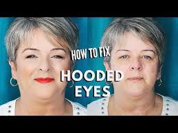 hooded eyes on women over 50