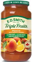 e d smith triple fruits peach mango orange