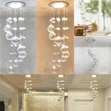 3w led crystal concealed ceiling light