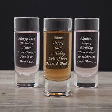 shot gl for birthday 18th 21st 30th